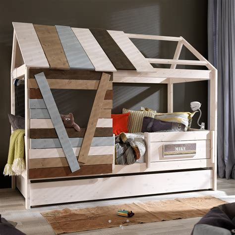 treehouse beds for sale low tree house kids cabin bed fun kids beds cuckooland