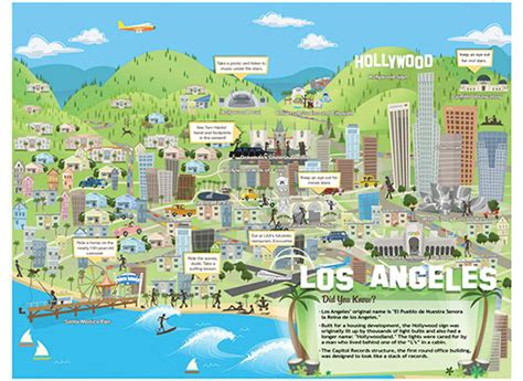 map of usa los angeles travel map of los angeles city los angeles city travel