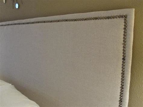 upholstered headboard nailhead trim king upholstered headboard with nailhead trim 28 images