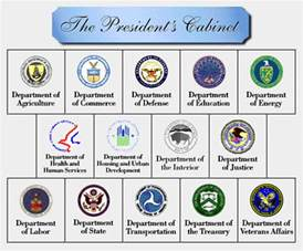 cabinet and executive agencies thinglink
