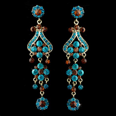 Antique Chandelier Earrings Couture Antique Chandelier Earrings Bridal Hair Accessories