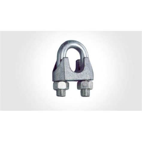 Wire Rope Clip Galv 10mm wire rope u bolt galv