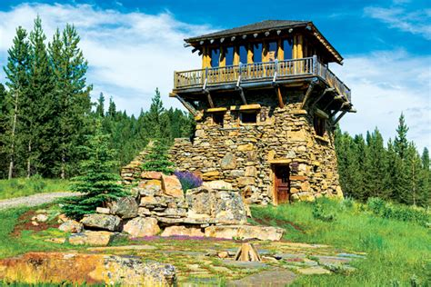 Two Bedroom Ranch House Plans a rustic four cabin family enclave