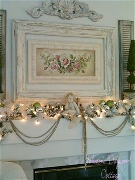 25 best ideas about shabby chic fireplace on