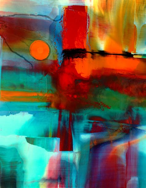 Drawing Or Painting by Colour Sunset Painting Nora Doherty Original