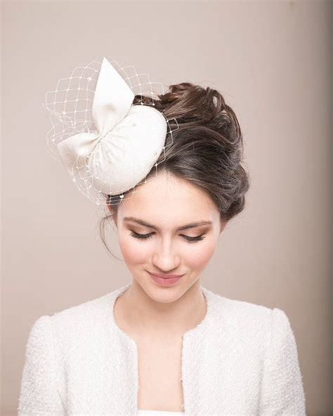 Vintage Bridal Hair Fascinators by How To Make A Pillbox Hat With Veil Search