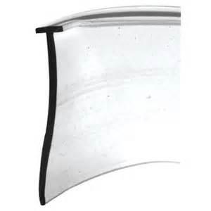 slide co 36 inch vinyl shower door bottom seal model