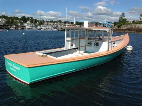lobster boat diy 1961 jonesport lobster boat power boat for sale www
