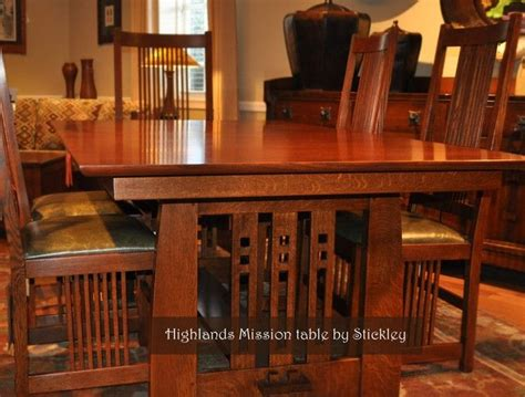 Craftsman Style Dining Room Furniture 25 Best Ideas About Craftsman Dining Tables On