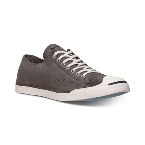 converse mens purcell lp casual sneakers from finish