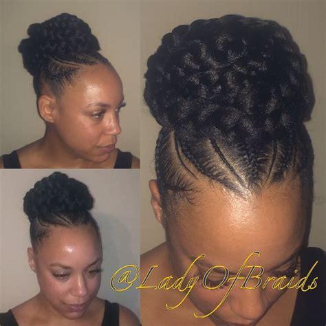 scoup bangs braid ponytail image result for cornrow ponytail with bangs braids