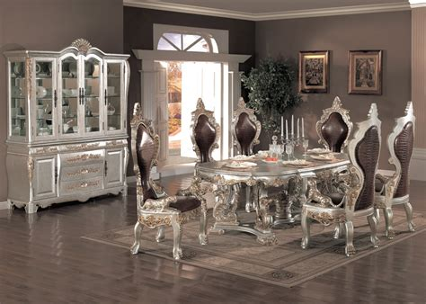 formal dining room sets formal dining table  chairs