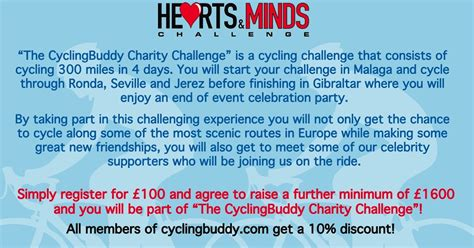hearts and minds challenge hearts and minds a hearts minds sponsored cycling