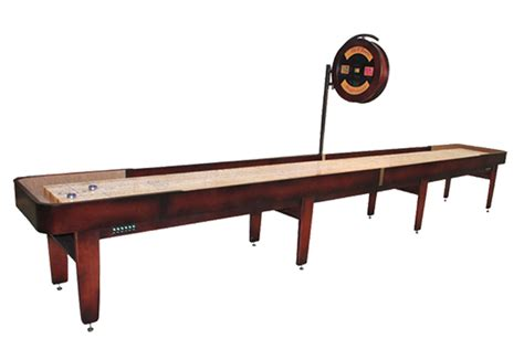 Mcclure Tables by 20 Foot Tournament Ii Shuffleboard Table Mcclure Tables