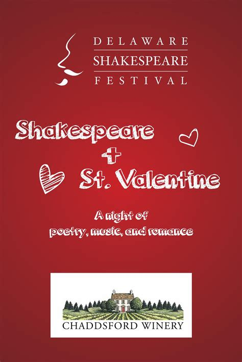 shakespeare valentines shakespeare st tickets in chadds ford pa