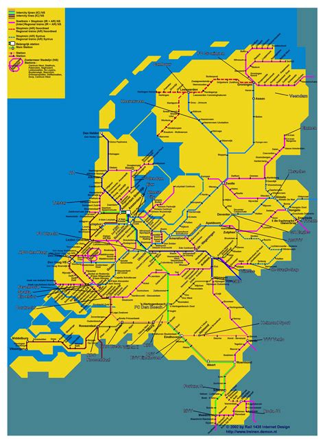 netherlands map images large map of netherlands large map