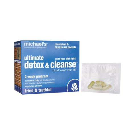 Best Detox Cleanse Programs by Ultimate Detox Cleanse 2 Week Program 1 Kit