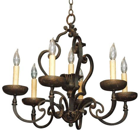 Forged Iron Chandelier X Jpg