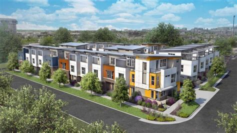 new project row houses at jefferson park denverinfill blog photo of row houses