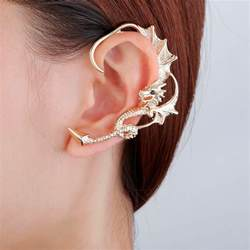 ear earings must these four trendy ear cuff wrap earrings