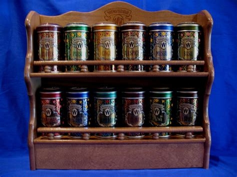 Spice Islands Spice Rack by Watkins Spice Rack With 12 Collector Tins Spice Racks Jars