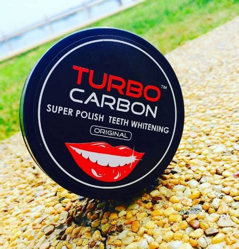 Pemutih Turbo turbo carbon teeth whitening