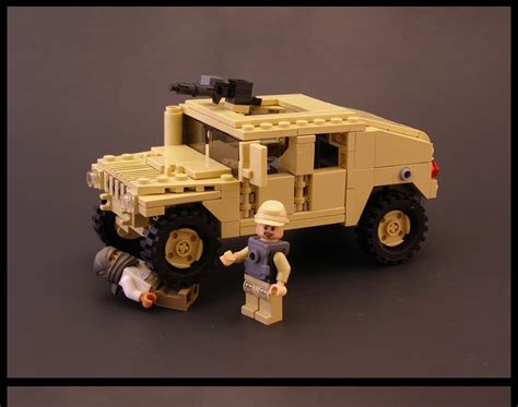 lego army humvee blxbrx black s bricks lego humvee with building