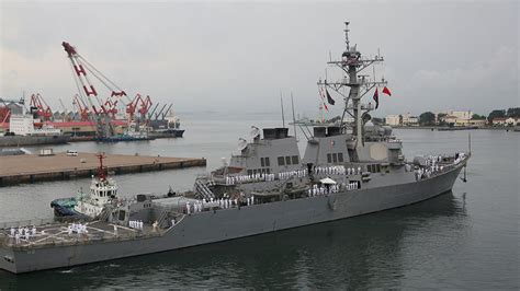 crash boat navy japanese boat crashes into us navy destroyer in pacific