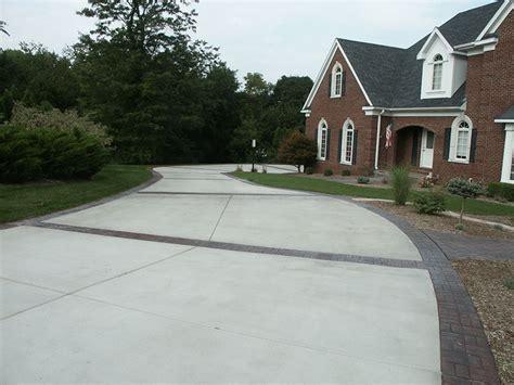 concrete driveway design ideas