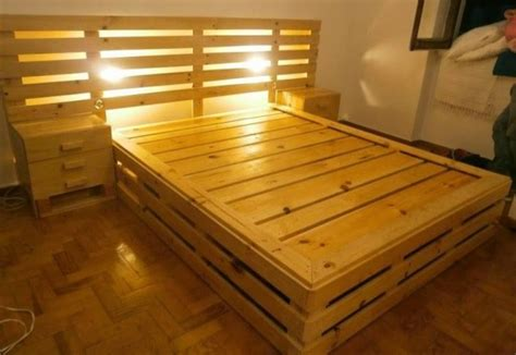 wooden pallet bed recycled wood pallet bed ideas pallet wood projects