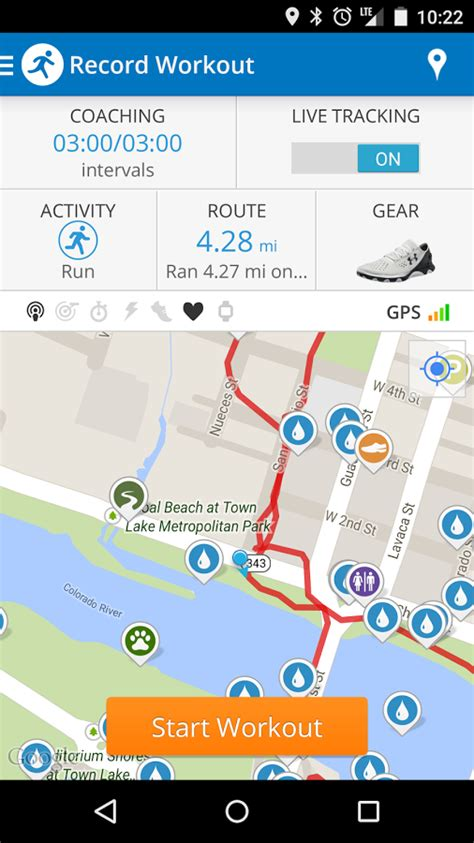 run map run with map my run android apps on play