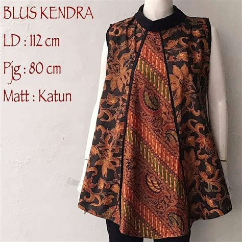 Blouse Atasan Top Valonia 7242 best i batik images on kebaya batik fashion and batik dress