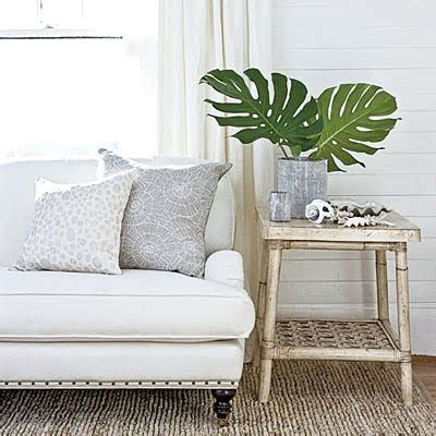 Tropical Coastal Decor by Palm Leaves Fronds Simple Decor Ideas For Adding Green Tropical Flavor Completely Coastal