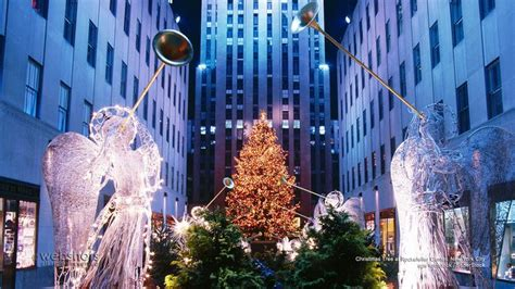 rockefeller center christmas tree wallpaper 39 best images on free screensavers trees and wallpaper