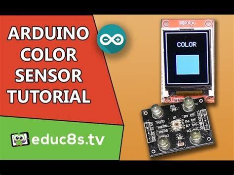 tutorial arduino uno youtube arduino color sensor tutorial tcs230 with arduino uno