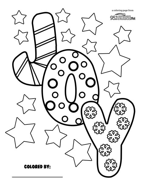 Joy Coloring Page My Blog Joys Coloring Pages Page
