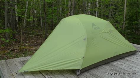 3 section tent raffles and polls section hikers backpacking blog