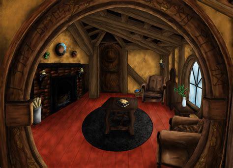 Hobbit Interior by Into The Hobbit By Fyrewhisp On Deviantart