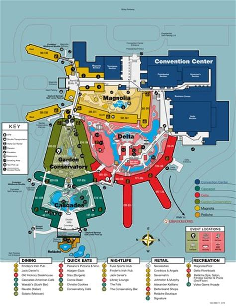 grand ole opry floor plan gaylord opryland resort convention center maplets