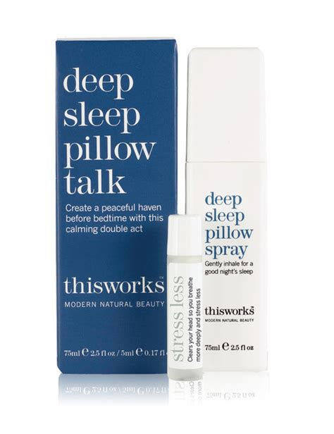 This Works Sleep Pillow Spray Review by Buy This Works Sleep Pillow Talk 5ml And 75ml