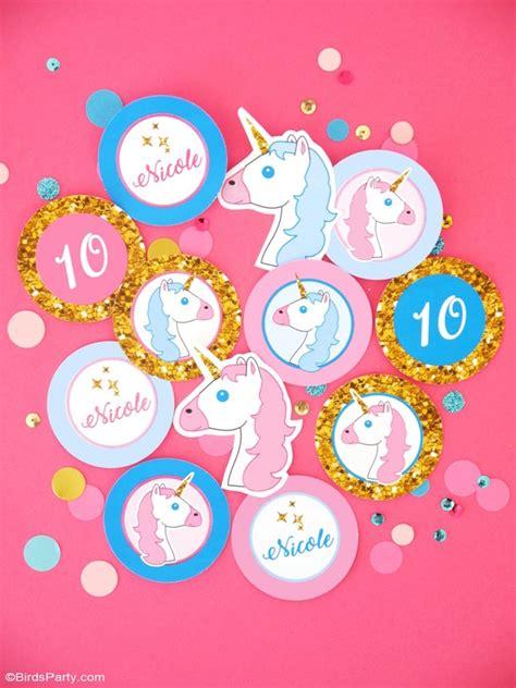 printable unicorn decorations kara s party ideas unicorn slumber party kara s party ideas