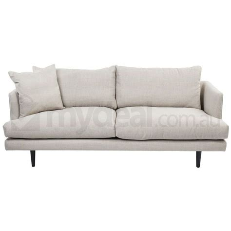 Addison Beige Neutral Fabric Sofa Wide 2 5 Seater Buy