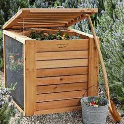 decorative compost bin farmer d cedar composter contemporary compost bins
