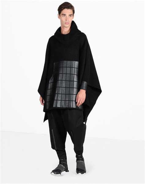 Sweater Adidas 3line y 3 poncho sweater for adidas y 3 official store