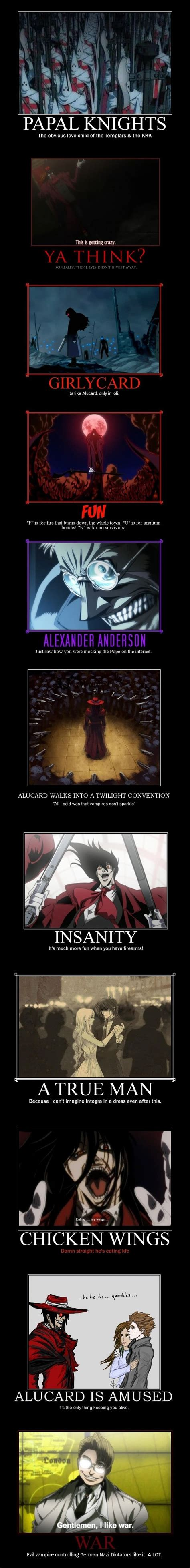 Hellsing Meme - collection of hellsing memes anime manga cartoons