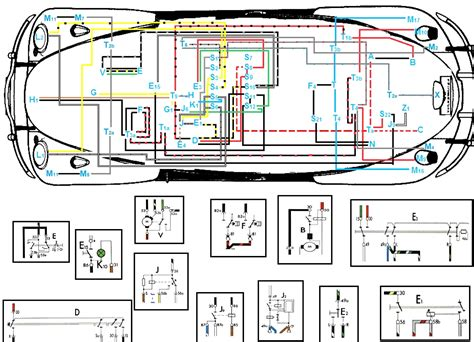 vw 1500 wiring diagram vw fuse box diagram vw engine