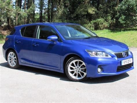 lexus hybrid hatchback used blue lexus ct 200h for sale dorset