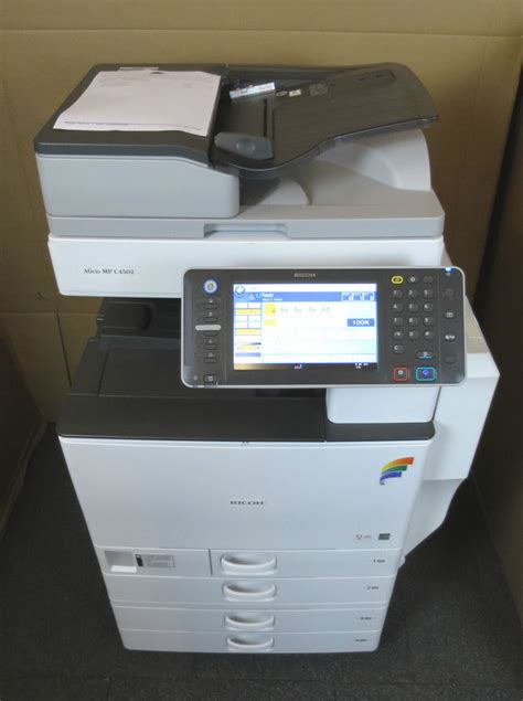 Ricoh Aficio Mp C5502 Color Copier Printer Scanner Mp