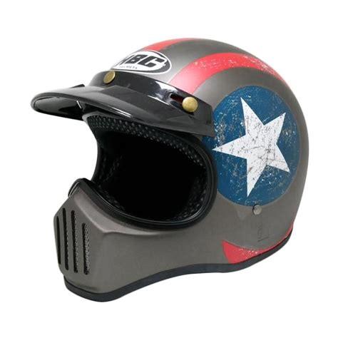 Helm Cakil Hbc Jual Hbc Cakil Captain America Helm Grey