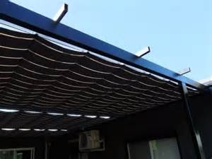 Awning Pulley System by Pleated Patio Shades Melbourne Shadewell Awnings Blinds